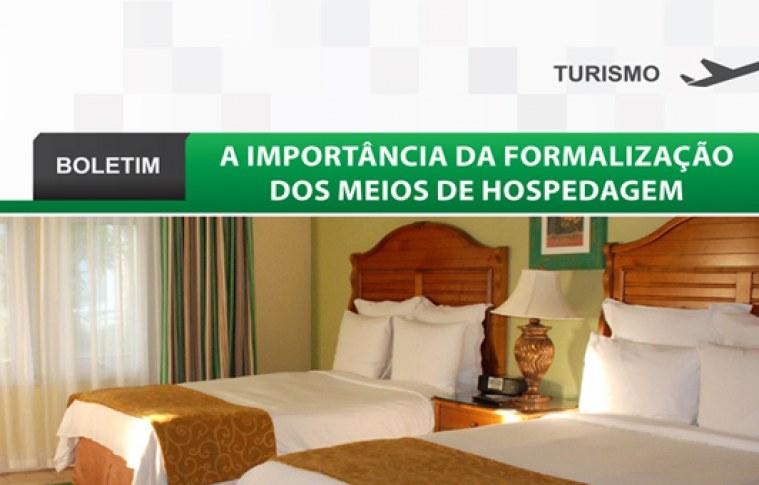Boletim: A importância da formalização dos meios de hospedagem