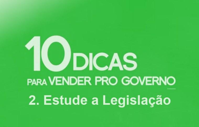 Como vender para o governo – estude a legislação