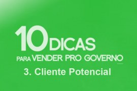 Como vender para o governo – Cliente potencial