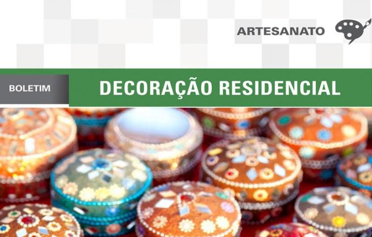 Boletim: Decoração residencial