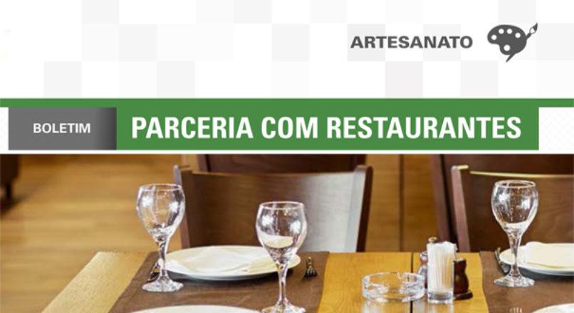 Boletim: Parceria com restaurantes