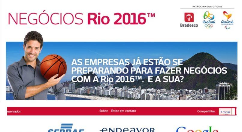 Bradesco e Sebrae apresentam oportunidades do Rio 2016