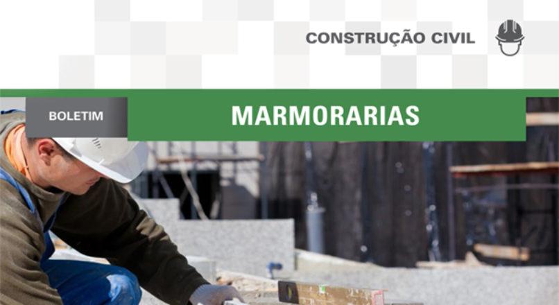Boletim: Marmorarias