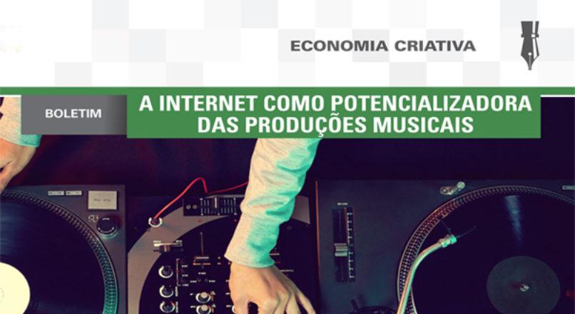 Boletim: A internet como potencializadora das produções musicais