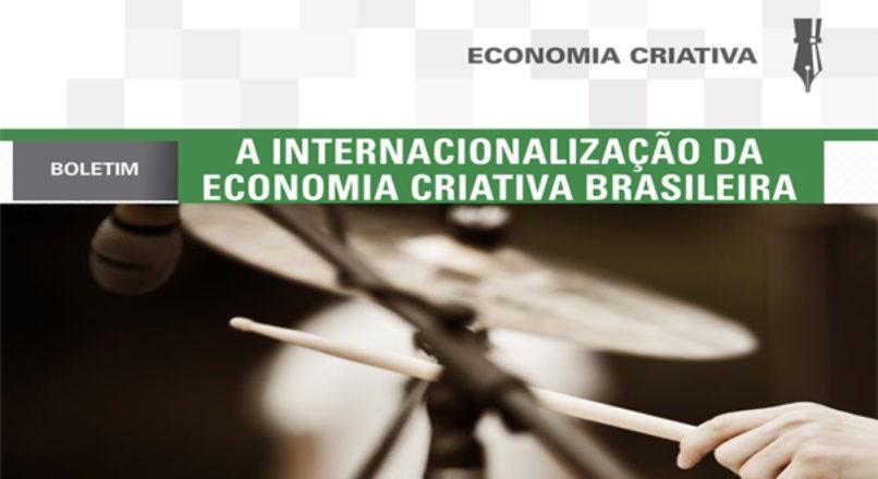 Boletim: A internacionalização da economia criativa brasileira