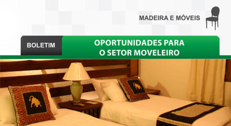 Boletim: Oportunidades para o setor moveleiro