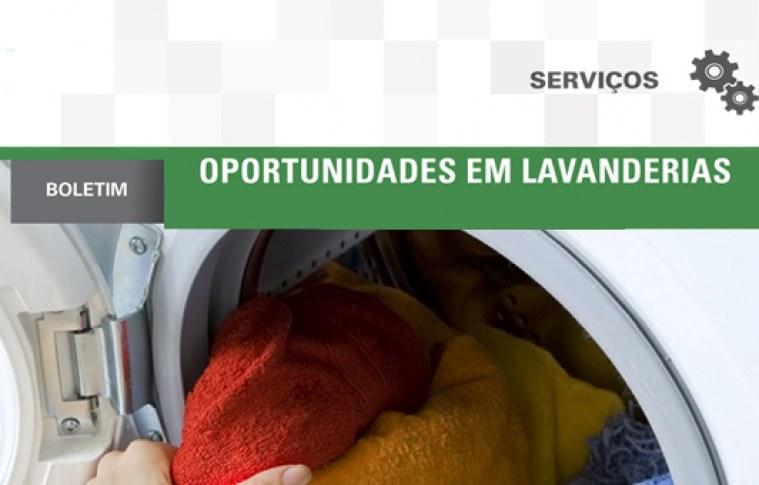 Boletim: Oportunidades com lavanderias