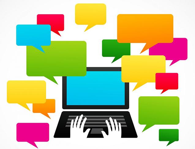 criação de conteúdo online