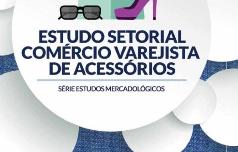 Comércio varejista de acessórios de moda: estatísticas