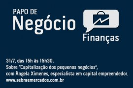 Papo de negócio sobre Capital Empreendedor