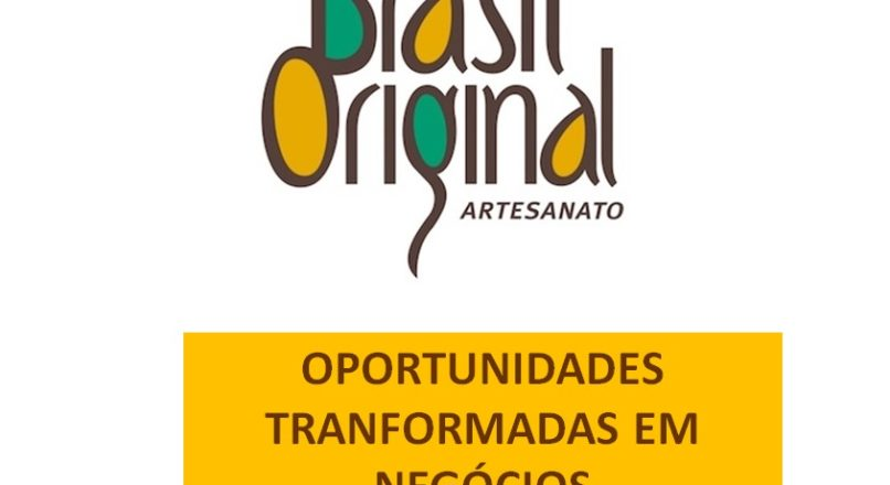 Ideia que se torna realidade no artesanato brasileiro