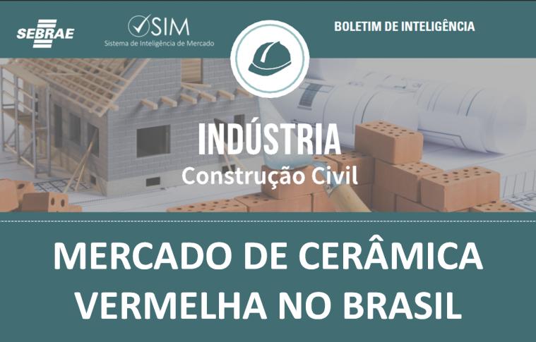 Boletim – Mercado de Cerâmica Vermelha do Brasil