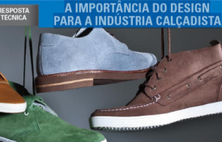 A importancia do design para a industria calcadista