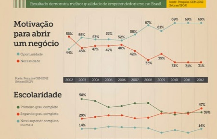 Infográfico – Perfil do Empreendedor Brasileiro