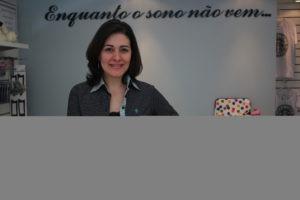 Soraya Lacerda, uma das sócias da Enquanto o Sono Não Vem...