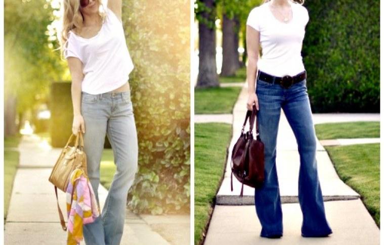 Flared jeans em alta no Outono/Inverno 2016/2017