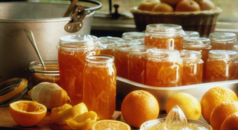 Fabricação de geleia de fruta