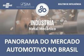 Boletim – Mercado Automotivo no Brasil