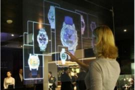 Vitrine eletrônica vira realidade com telas transparentes de LCD