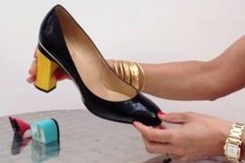 Tanya Heath Paris lança sapatos que podem mudar o salto