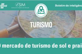Boletim – Mercado de turismo de sol e praia