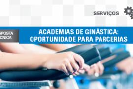 Boletim – Academias de Ginástica: Oportunidades para parcerias