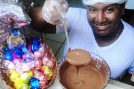 Empreendedores da Bahia investem em ovos de chocolate