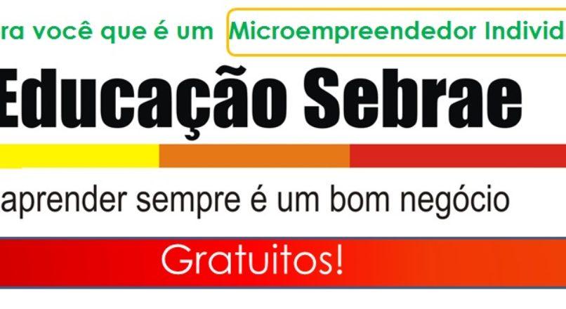 Cursos do Sebrae, em EAD e gratuitos, capacitam Microempreendedores Individuais em mercados
