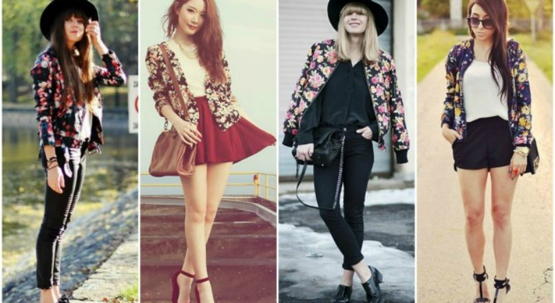 Tendências 2015: blazer estampado floral