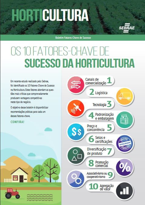 boletim fatores chave de sucesso horticultura