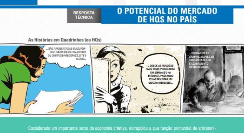 O POTENCIAL DO MERCADO DE HISTÓRIAS EM QUADRINHOS NO BRASIL