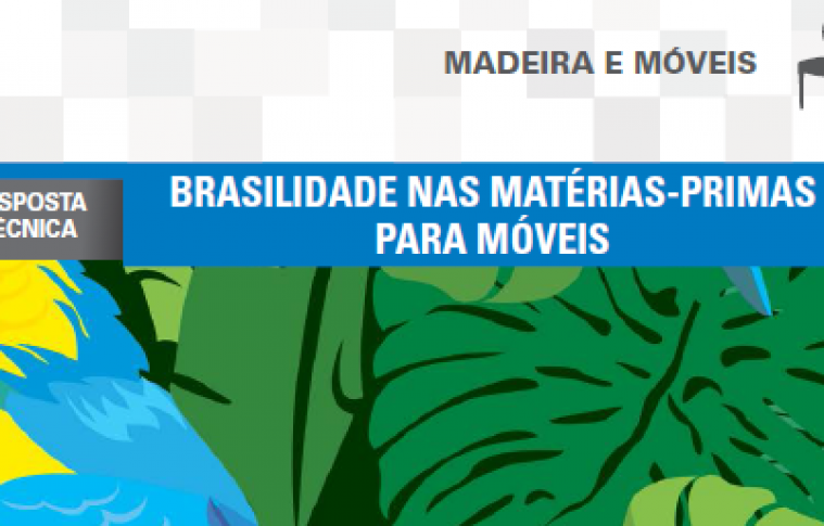 Boletim- Brasilidade nas matérias-primas para móveis
