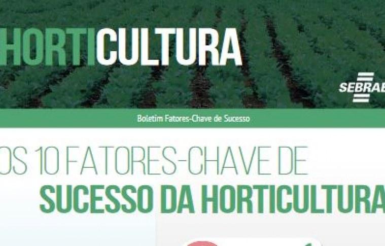 [BOLETIM] Dez Fatores-chave de sucesso na Horticultura