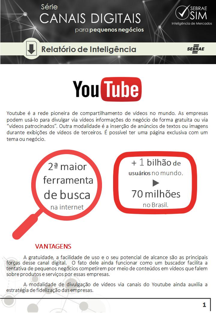capa youtube canais digitais sebrae
