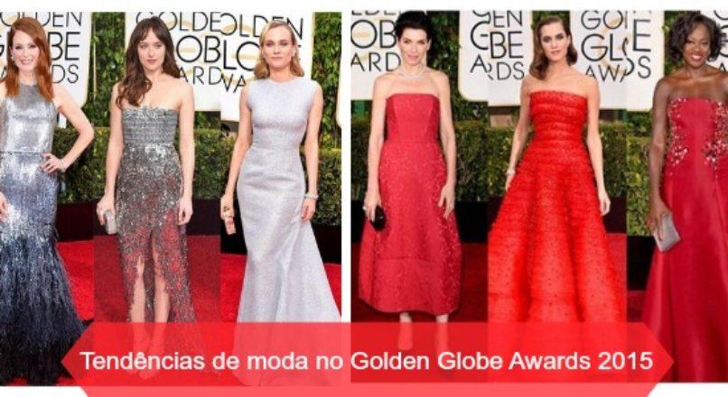 9 tendências de moda que brilharam no Golden Globe Awards 2015