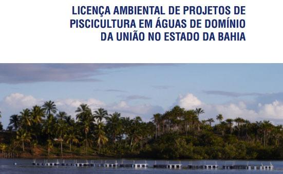 Sebrae mercados, licença ambiental para projetos de piscicultura