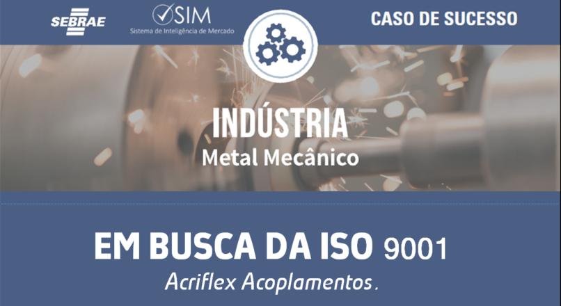 [Caso de Sucesso – Metal Mecânico] Empresa busca ISO 9001