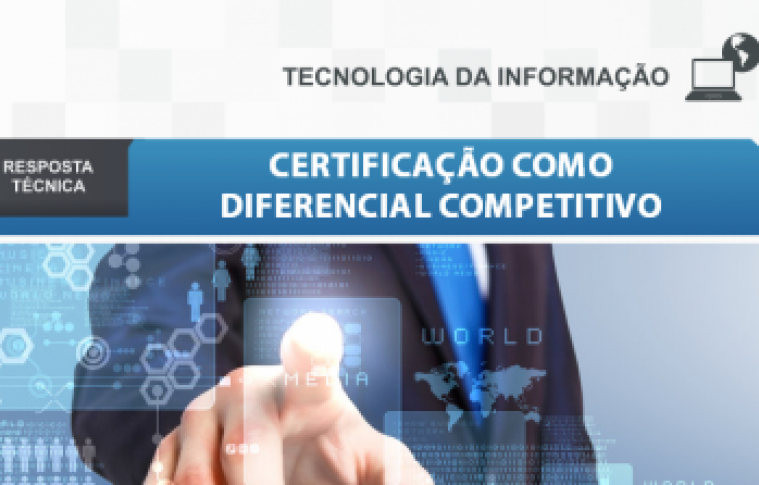 Boletim – Certificação como diferencial competitivo