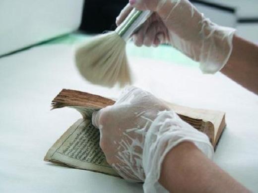 conservação e restauro de livros