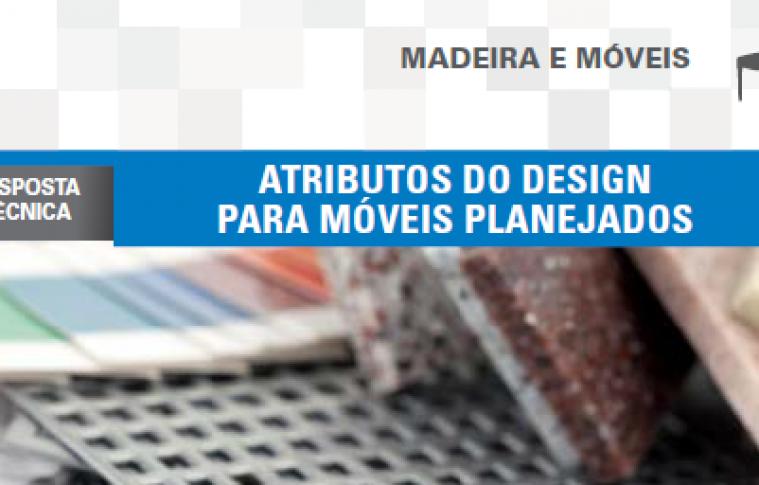 Boletim- Atributos do design para móveis planejados