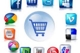 E-commerce integrado em redes sociais