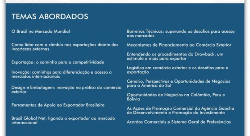 Inscrições para o Encomex de Jaraguá do Sul já estão abertas