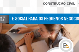 Boletim- E-social para os Pequenos Negócios