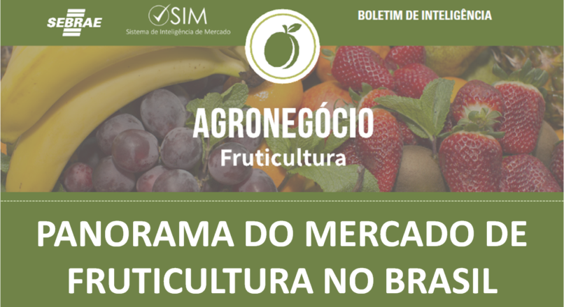 Boletim – Panorama do Mercado de Frutas no Brasil