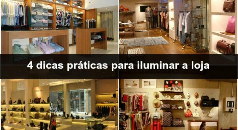 Dicas para melhorar o visual da loja (Pt. 3) – iluminação