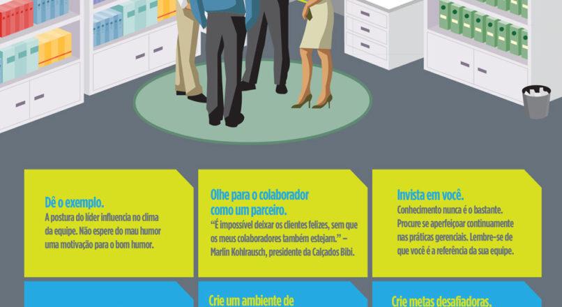 Infográfico: Dicas para motivar a minha equipe