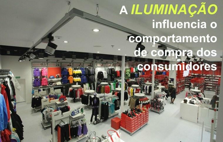 Iluminação da loja – como a iluminação contribui para as vendas