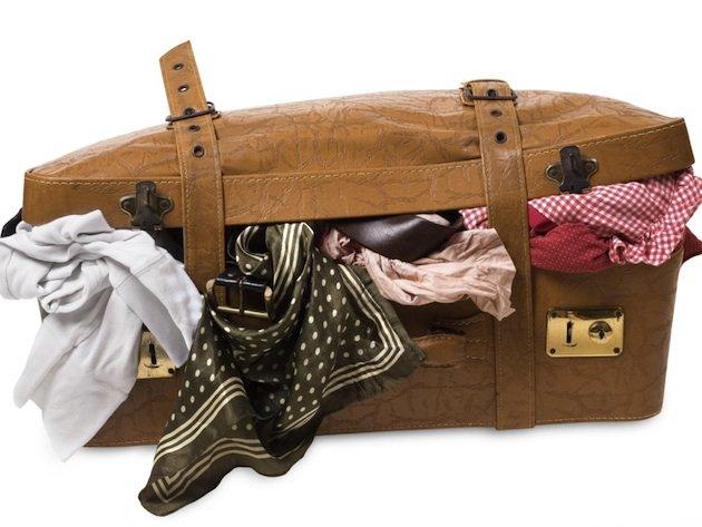 higienização de malas