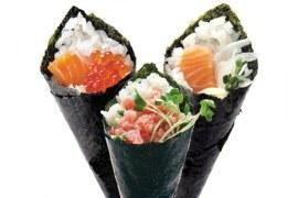Temakeria – sushi em cone de alga