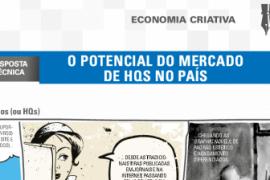 Boletim – O potencial do mercado de HQs no país